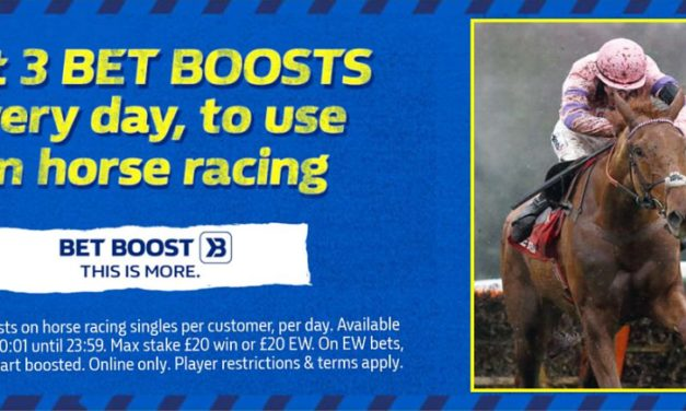 William Hill Horse Racing Bet Boosts