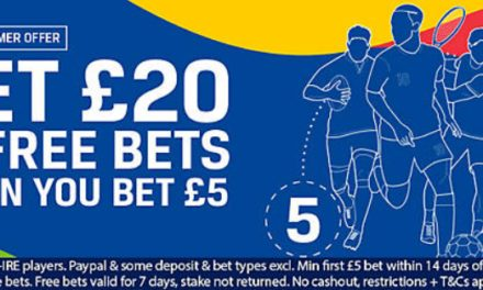 Coral Welcome Offer – Bet £5 & Get £20 in Free Bets