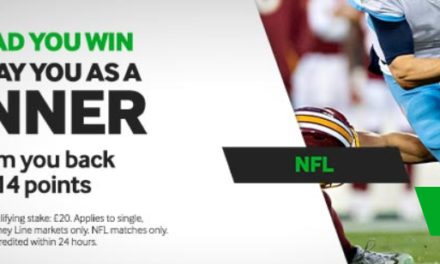 Betway NFL You Lead, You Win