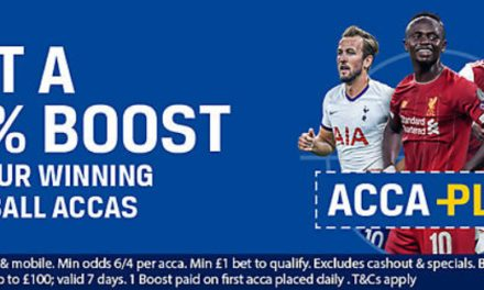 Coral AccaPlus – 10% Extra Winnings