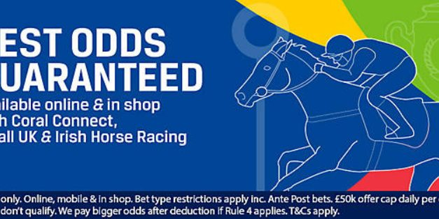 Coral Best Odds Guaranteed on Horse Racing