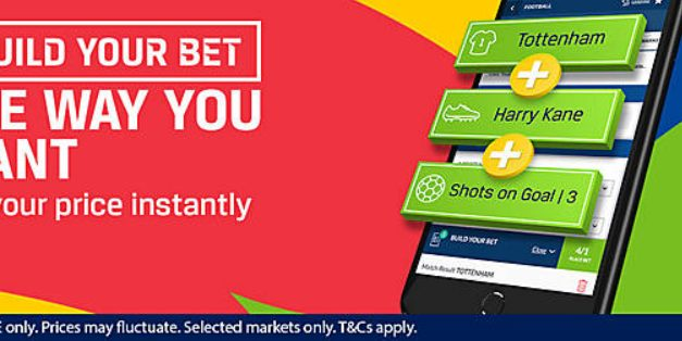 Coral Build Your Bet Offer
