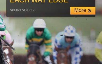 Betfair Each Way Edge for Horse Racing