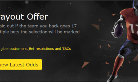 bet365 NFL Early Payout Offer