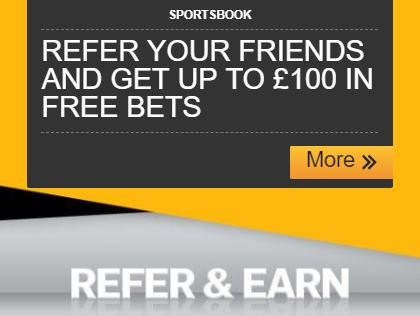 Betfair Refer and Earn – Up to £100 in Free Bets