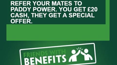 Paddy Power Got Friends