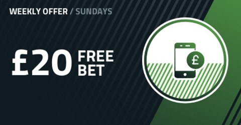 FansBet Up to £20 Free Bet