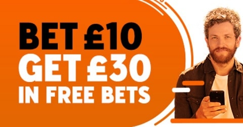 888sport New Customer Offer - Bet £10 Get £30 In Free Bets